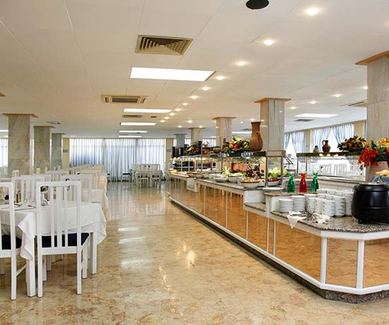 Hotel mit Buffet in Can Pastilla Mallorca