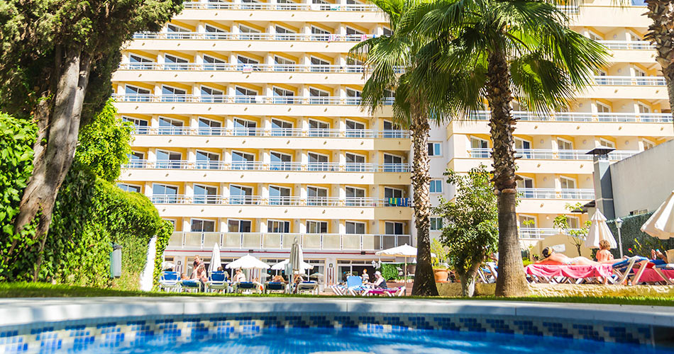 Piscina Hotel Roc Flamingo