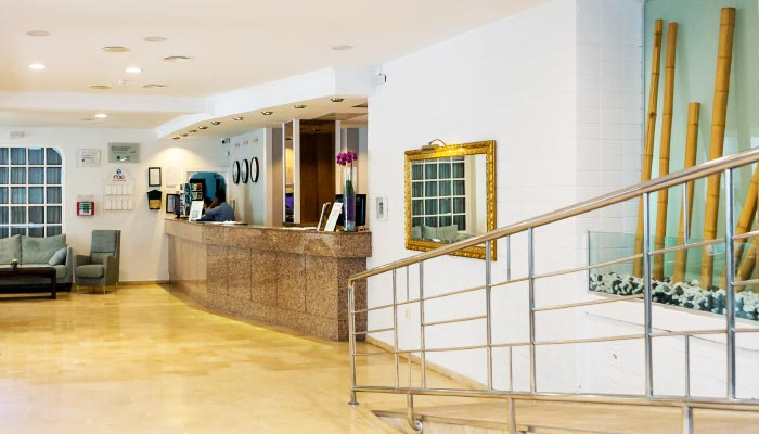 services and benefits hotel roc flamingo in málaga