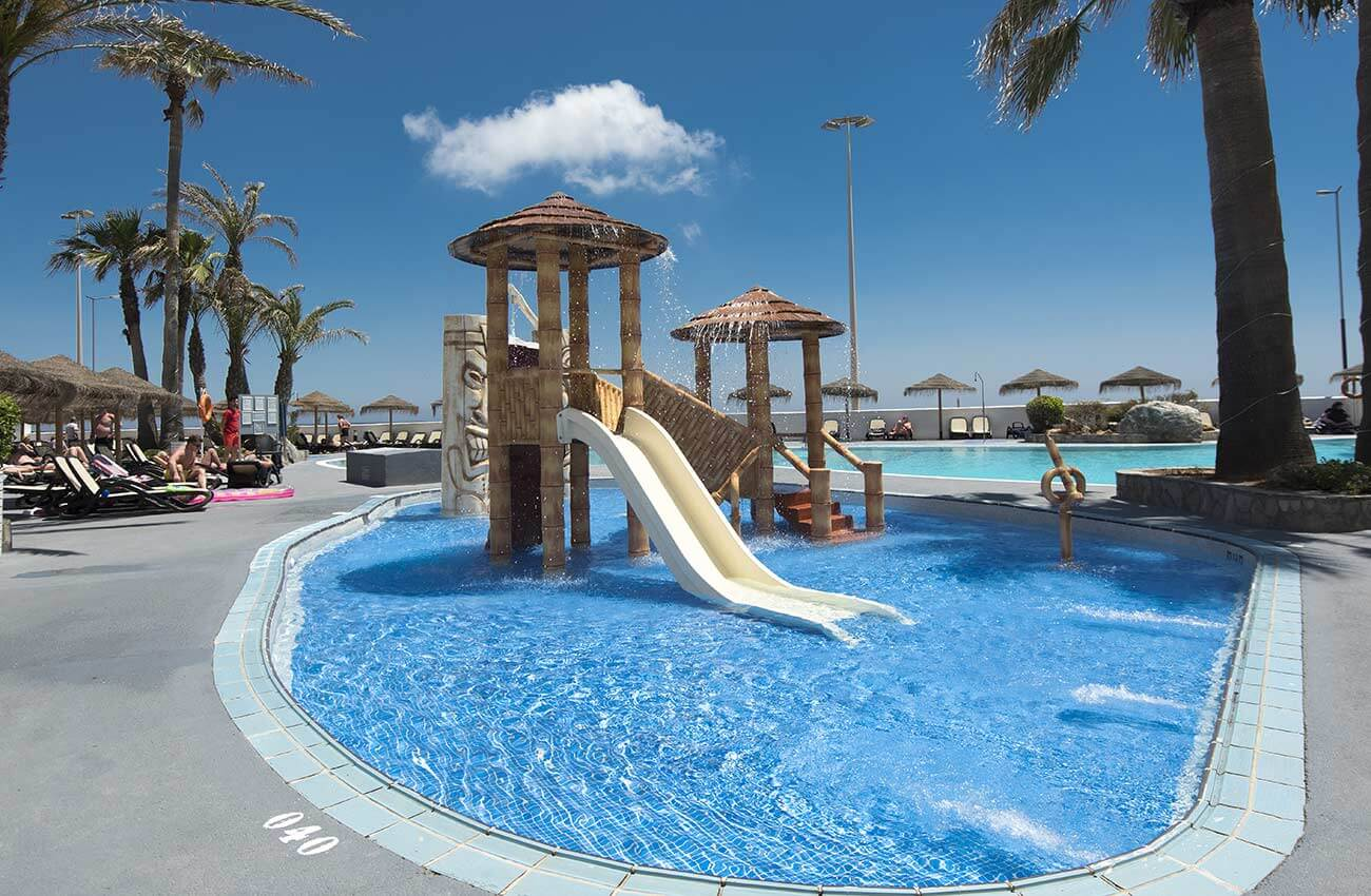children's pool at the golf trinidad hotel in Almeria