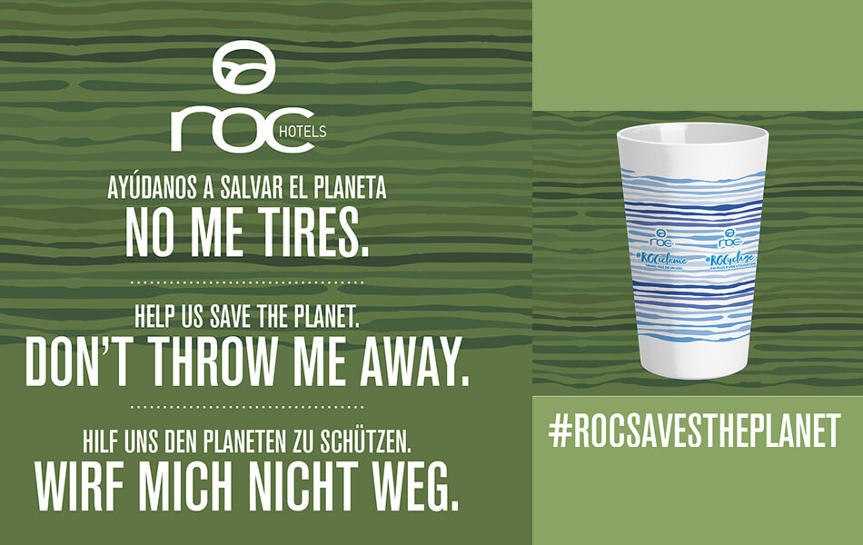Help to save the planet with roc hotels