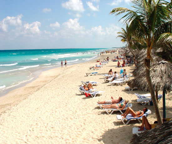 hotel with direct access to the beach in Varadero