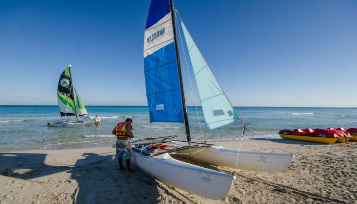 Learn more about water sports at the Roc Arenas Doradas Hotel in Varadero
