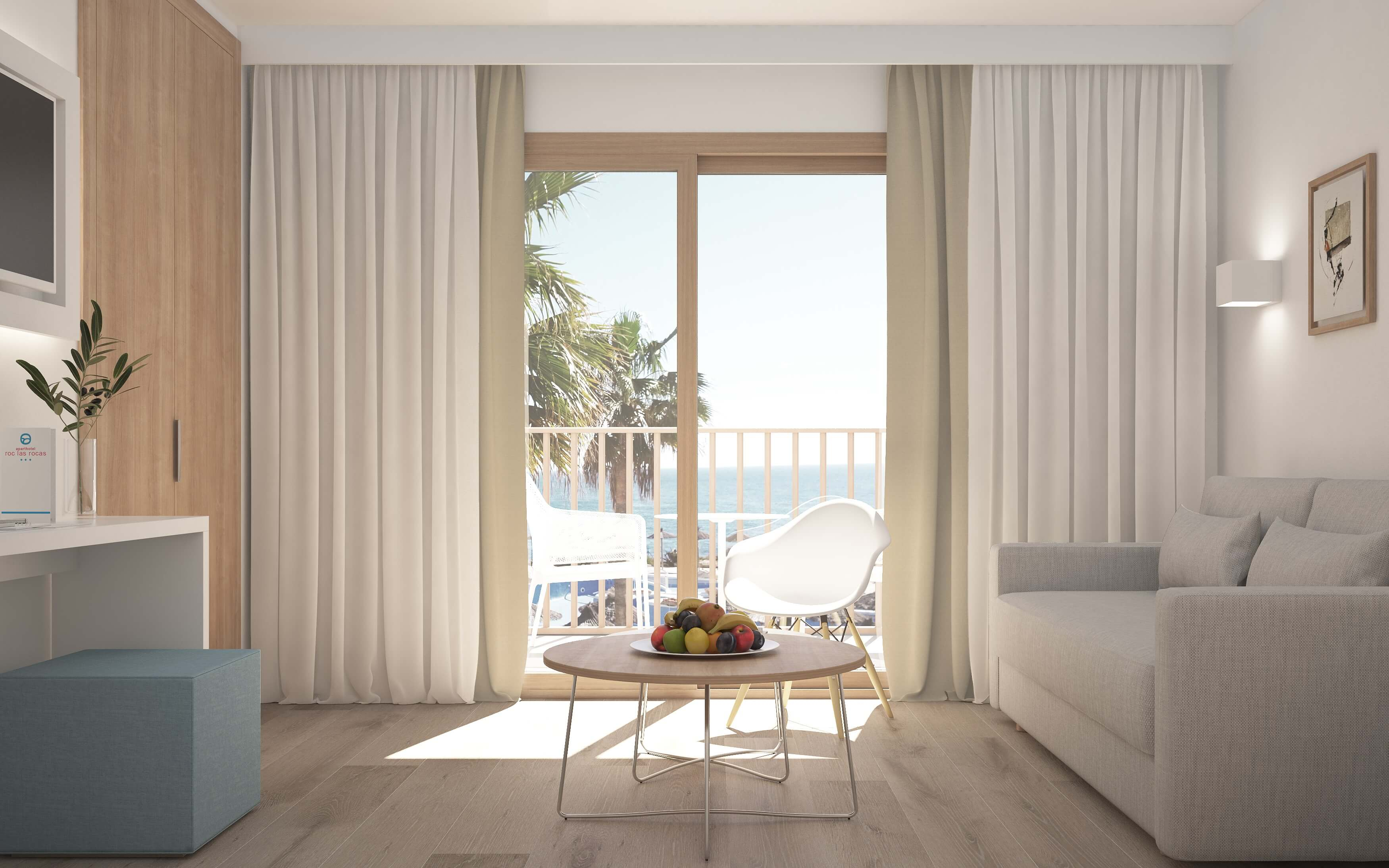 Apartments with views in Cala d'Or
