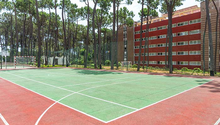 tennis court at the hotel roc marbella park in Marbella